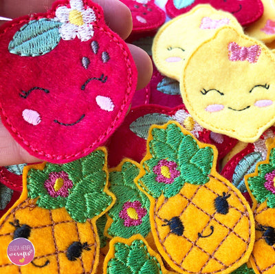 Fruit Face Kawaii Felties