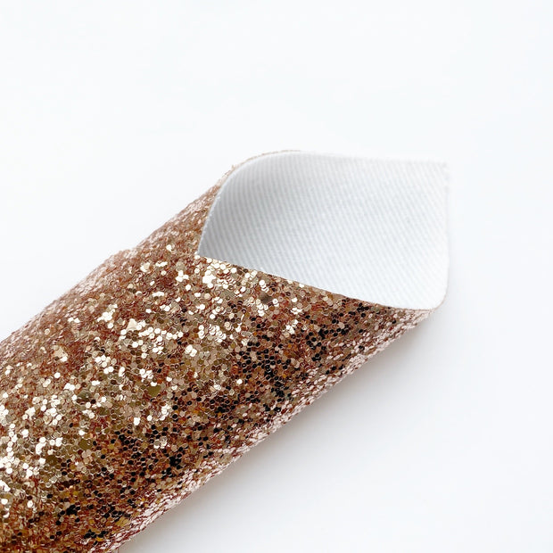 The Rose Gold Life Lux Premium Chunky Glitter Fabric