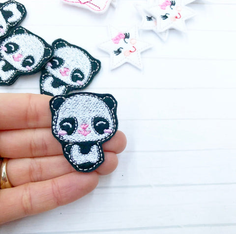 Cute Panda Felties