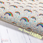 Over the Rainbow Chunky Glitter Fabrics