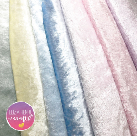 Pastel Velvets Fabric Felt Collection