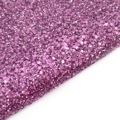 Pretty in Pink Lux Premium Chunky Glitter Fabric