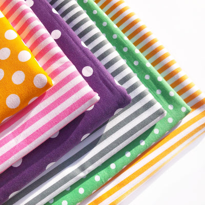 Pick and Mix Spots and Stripes Fabric Felts