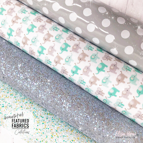 The Elephant Collection- Beautiful Featured Fabrics