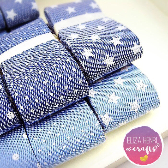 New Denim Ribbons