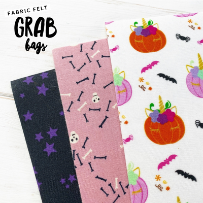 EHC Halloween Fabric Felt Grab Bag