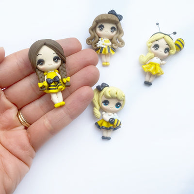 EXCLUSIVE Bee Babes Clay Charms