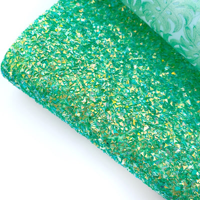Totally Tropical Chunky Glitter Fabric