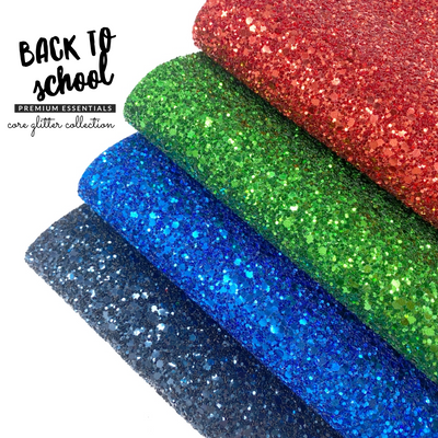 School Classics Premium Lux Glitter collection- 4 Colours