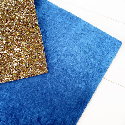 Double Sided Heir to the Throne Chunky Glitter Fabric