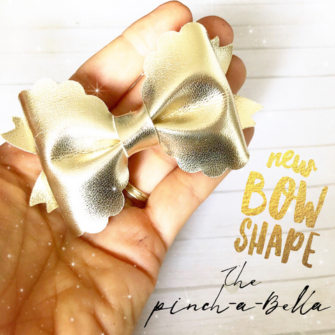 The Pinch-a-bella Bow Template