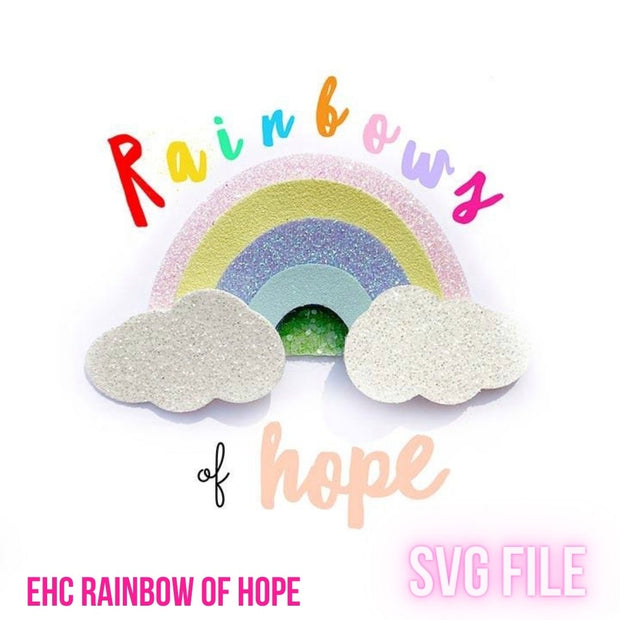 EHC Exclusive Rainbow of Hope SVG