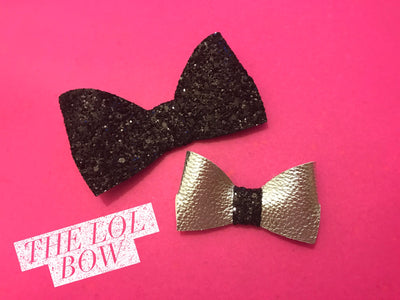 The Lol Bow EXCLUSIVE Hair Die/TEMPLATE Compatible with Big Shot