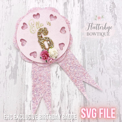 EHC Exclusive Birthday Badge SVG