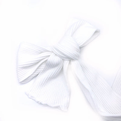 Ribbed Nylon Limitless Strips- White