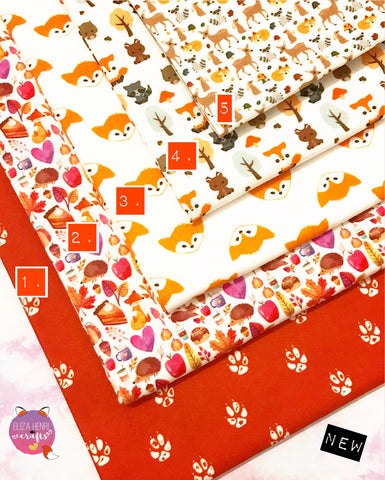 The Fox Collection Artisan Fabric Felt