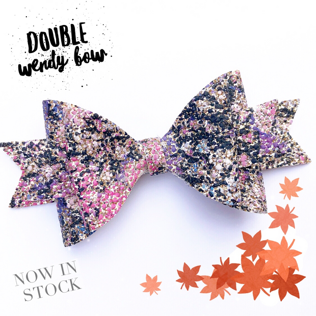 Exclusive The Wendy Bow Hair Die Compatible with Big Shot & Big Shot plus