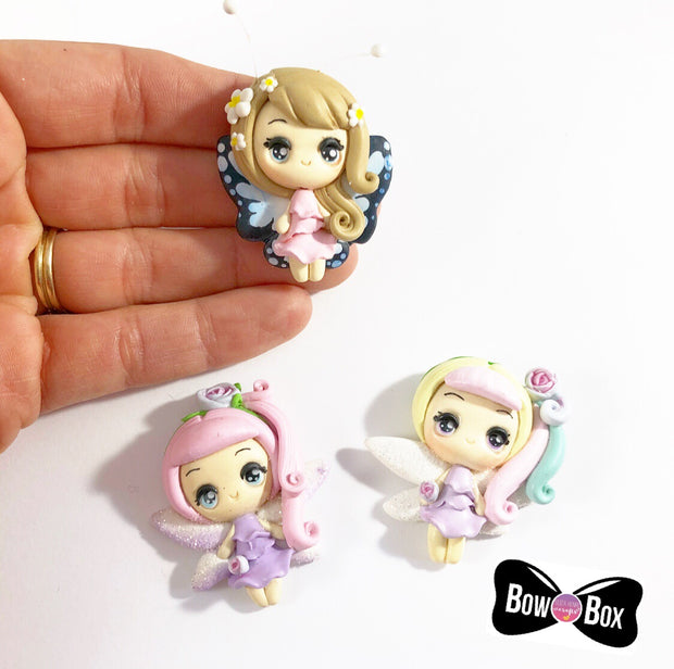 EXCLUSIVE Butterfly Babes Clay Girl Charms
