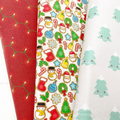 EHC Xmas Fabric Felt Grab Bag #2