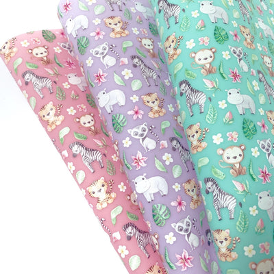 EHC Jungle Babies Jelly Fabric Sheets