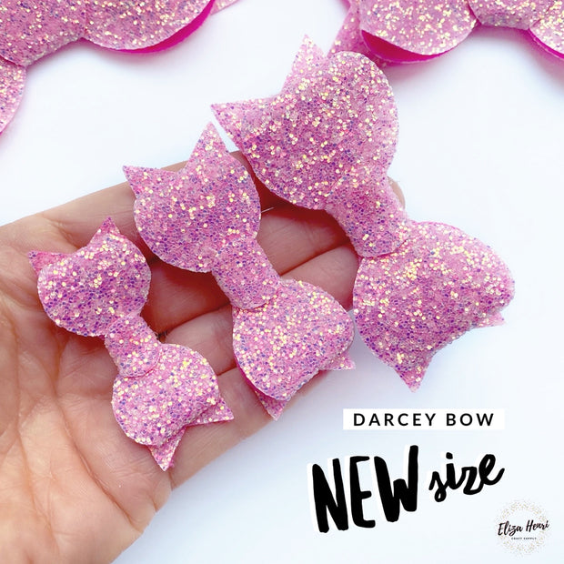 The Darcey Bow EXCLUSIVE Hair Die/Template Compatible with Big Shot plus