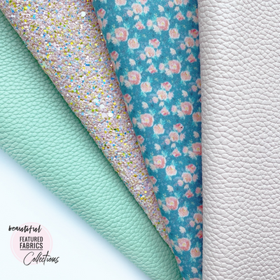 Heavenly Spring Floral - Beautiful Featured Fabric Collection