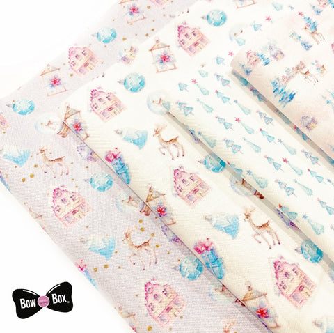 Winter Wonderland Premium Fabric Felts