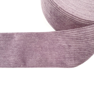 Dusky Purple Corduroy Ribbon 3''