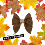 Party Pinch Hair Bow Template