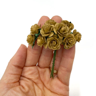 Rustic Brown Mulberry Roses