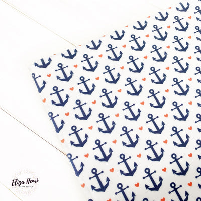 Anchors Away Premium Artisan Fabric Felt