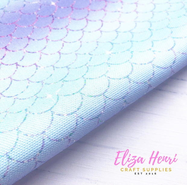 New Mermaid Scales Standard Fabric Felt