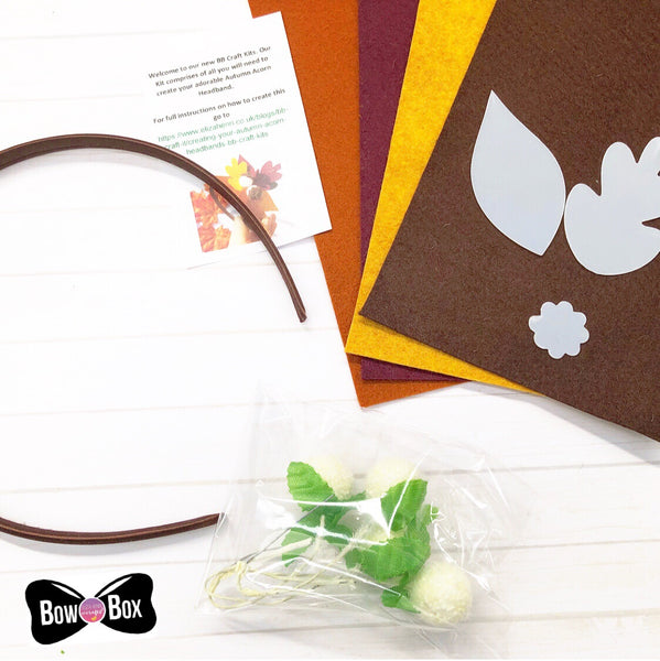 BB Craft It Kits - The Acorn Headband