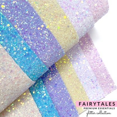 Premium Lux Fairytale Glitter collection- 6 Colours