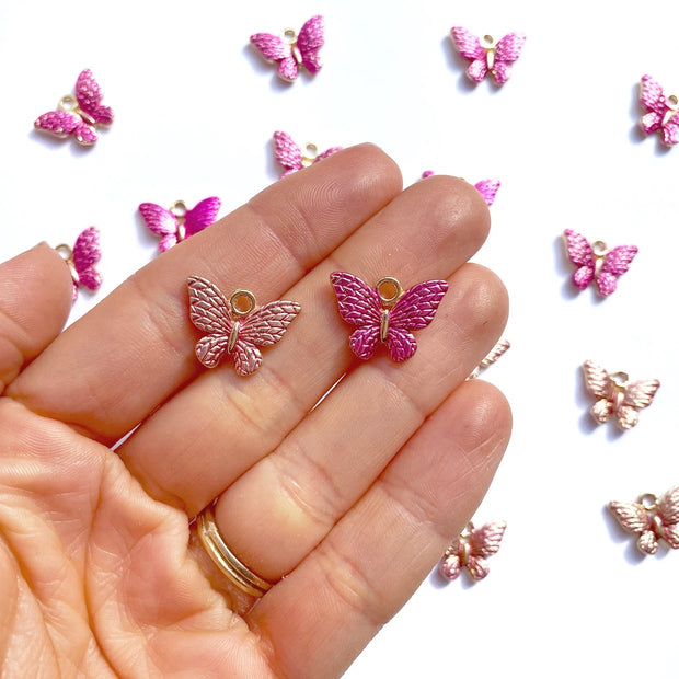 Elegant Butterfly Charms
