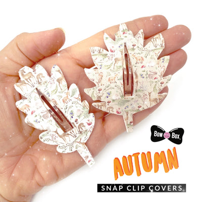 EHC Exclusive Leaf Hair Snap Clip Template Set