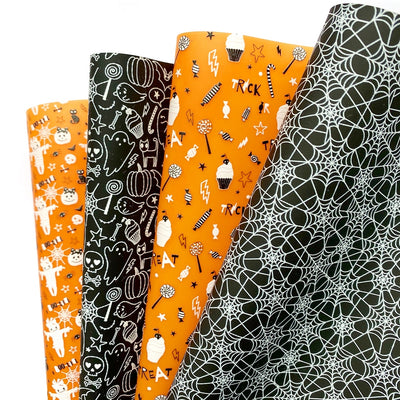 Halloween Mix UPs Jelly Fabric Sheets
