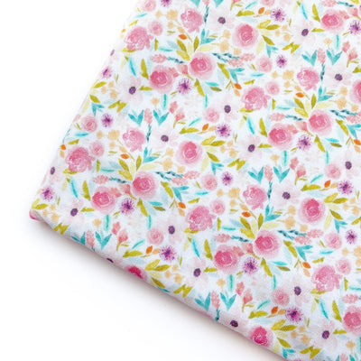 Yay its Spring Floral Premium Artisan Fabric Felt