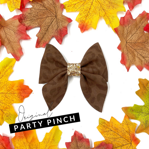 Party Pinch Hair Bow Die Cutter