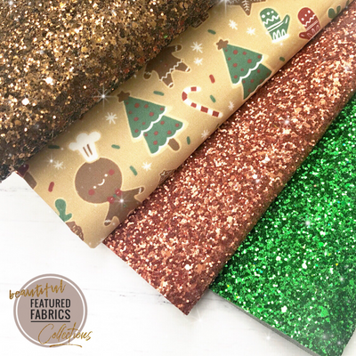 The Gingerbread Collection- Beautiful Featured Fabrics