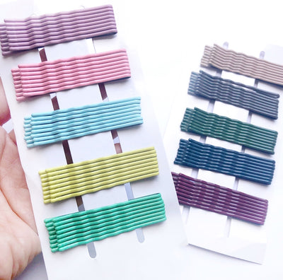 Coloured Bobby Pin Sets of 40 clips