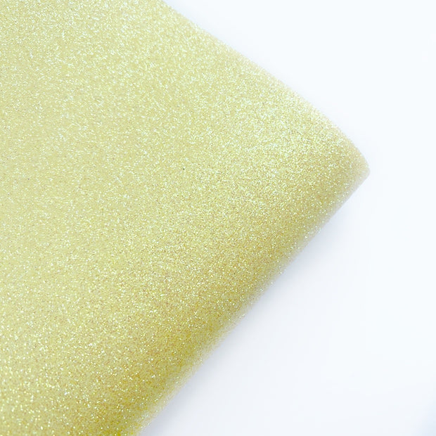 Sunshine Fine Glitter Fabric- NEW CORE RANGE