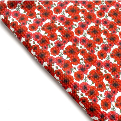 Poppy Print Rolly Rolly Bullet Fabric