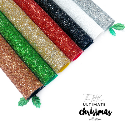 EHC Ultimate Christmas LUX Premium Glitter collection- 7 Colours