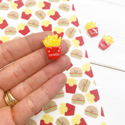 Cute French Fries Resin Charms