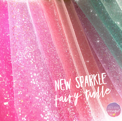 fairy sparkle tulle