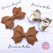 The Pinch-a-Rella Bow Template
