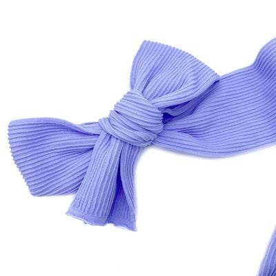 Ribbed Nylon Limitless Strips- Lilac