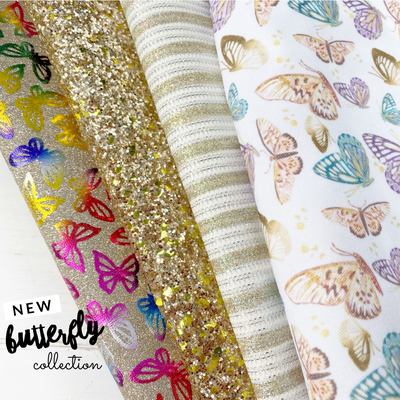 The Golden Butterfly Collection- Featured Fabrics