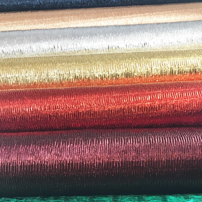 SALE Crinkle Ruched Thin Leather Fabrics